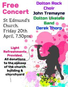 Free concert- April 20th
