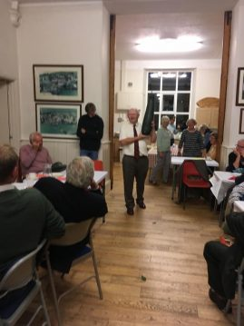 Harvest supper Iddesleigh - 2019